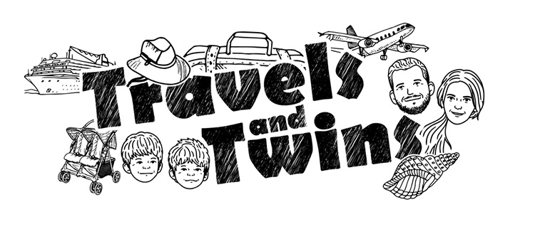 Travels And Twins Logo