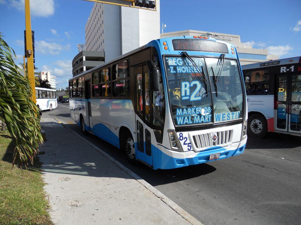 общественный транспорт канкуна