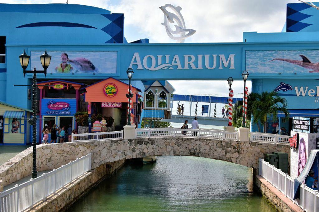 аквариум канкун