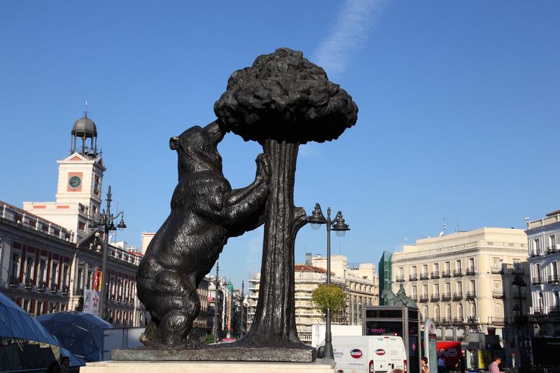 медведица с земляничным деревом