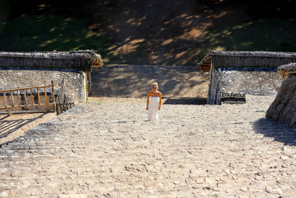 эк-балам руины майя