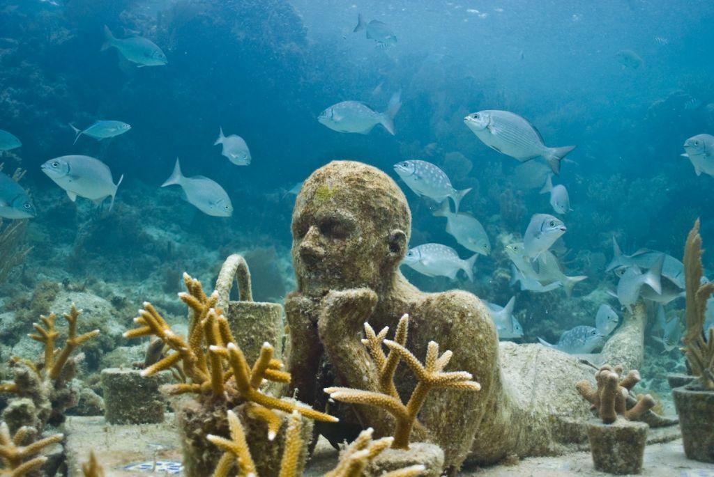 музей подводных фигур канкун