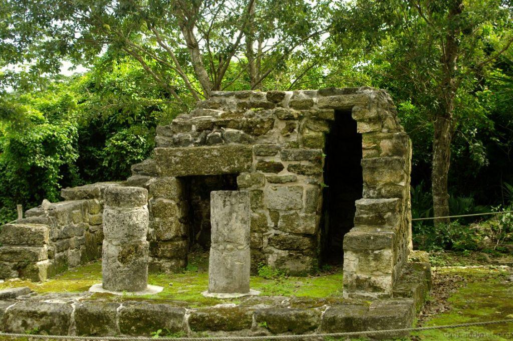 косумель руины майя